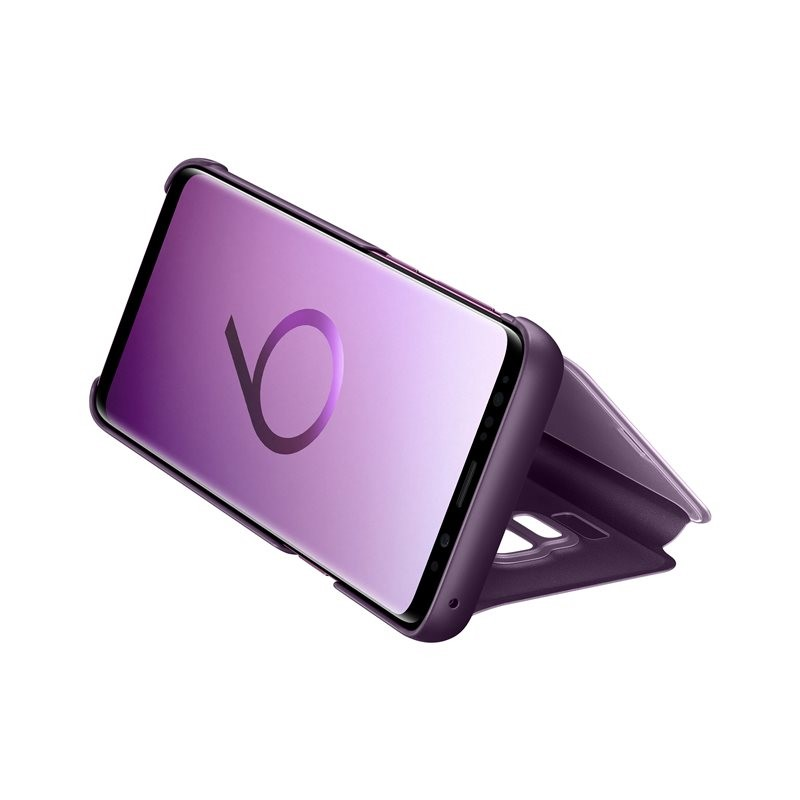Galaxy S9 Clear View Standing Cover, Violet (EF-ZG960CVEGWW)