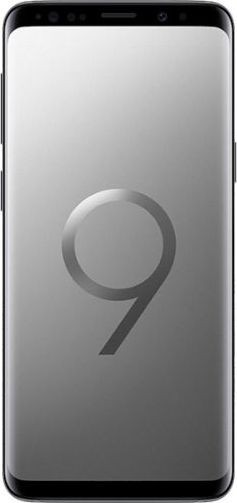 Samsung Galaxy S9  Dual Sim, 128 GB Internal Memory, 4 GB RAM, Grey