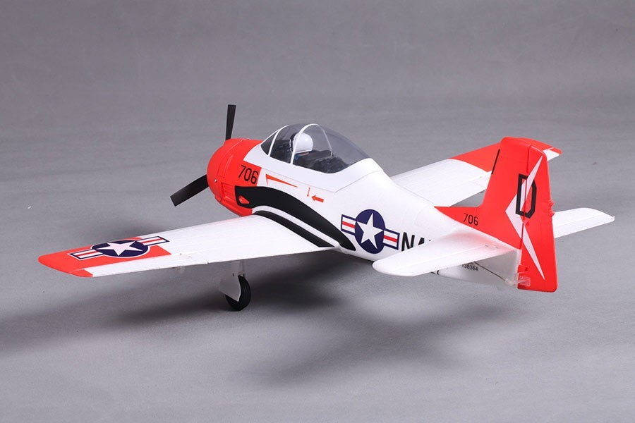 Airplanes, FMS 800mm T28 V2-Red PNP