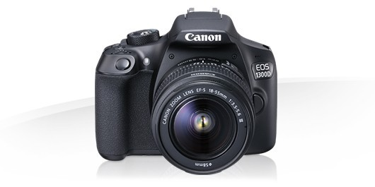 Canon EOS 1300D with 18-55 mm lens, Memory Card+ Dslr Bag.