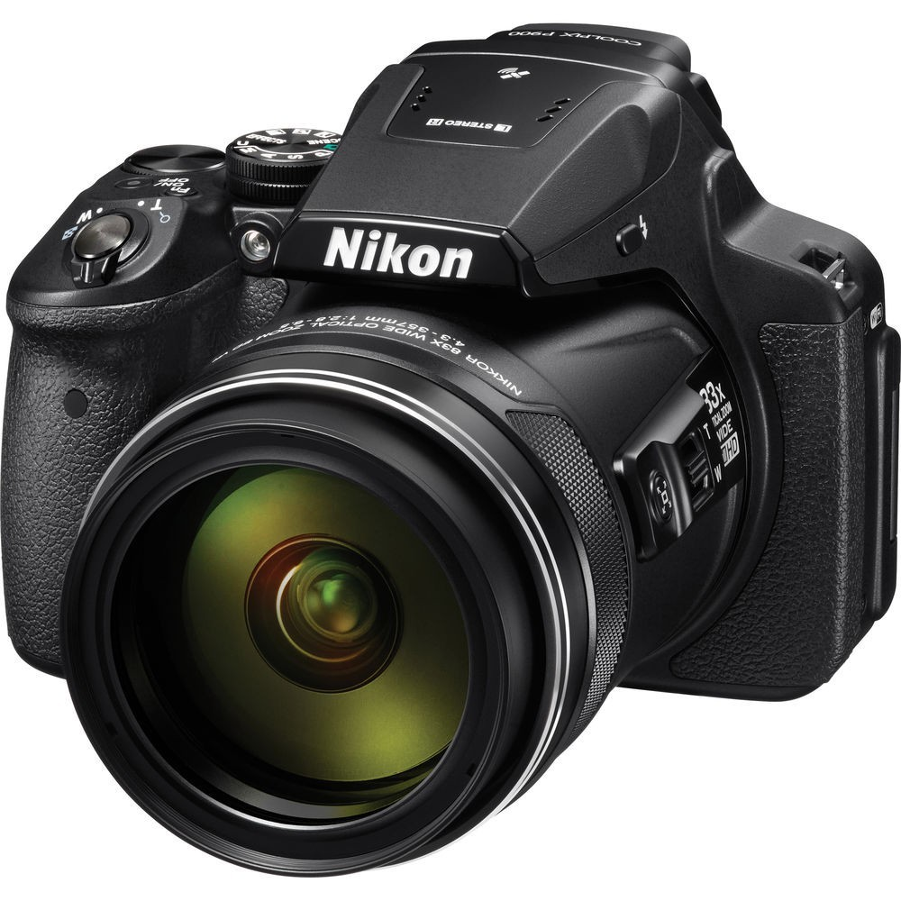 Nikon COOLPIX P900 Digital Camera, Bag+16 GB Memory Card