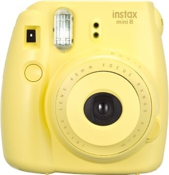 Instax Camera Mini8 Fuji, Yellow (FJMINI8-Y)