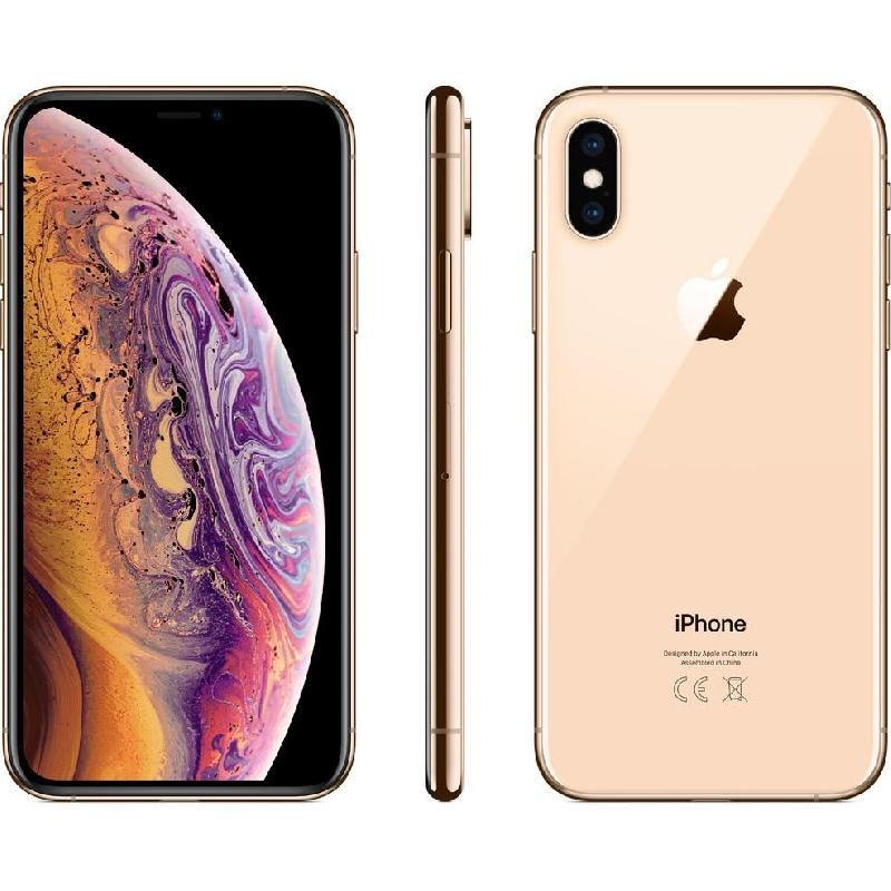 Apple iPhone Xs, 64 GB, Gold, 4G LTE