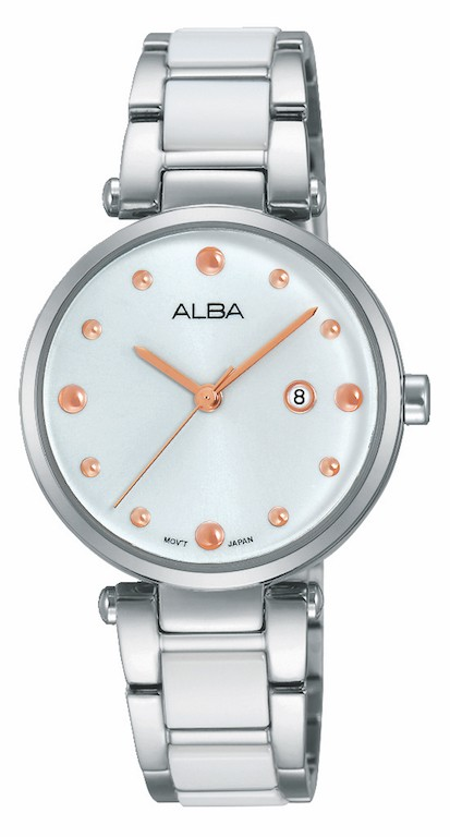 Alba AH7H13X1 Women's Wrist Watch Analog Round Dial