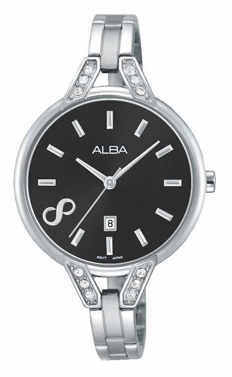 Alba AH7H27X1 Women's Wrist Watch Analog Round Dial