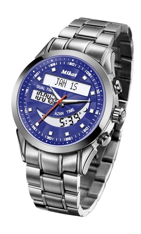 Mikat TKMW01 Men's Wrist Watch Digital Round Dial