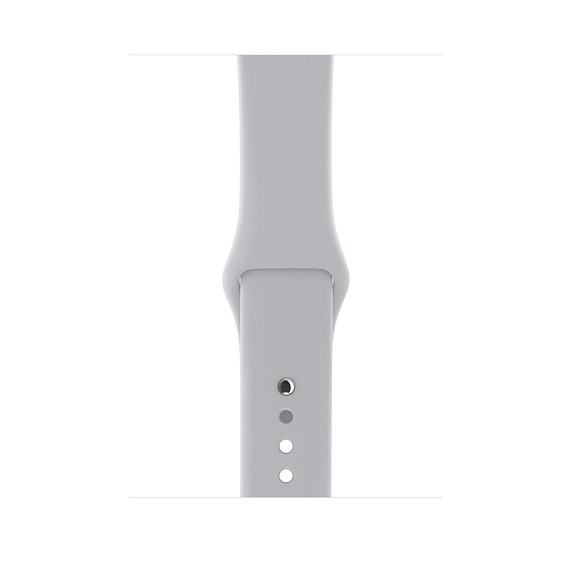 Apple Watch Series 3 GPS, 42mm Silver Aluminum, Sport Band, Fog