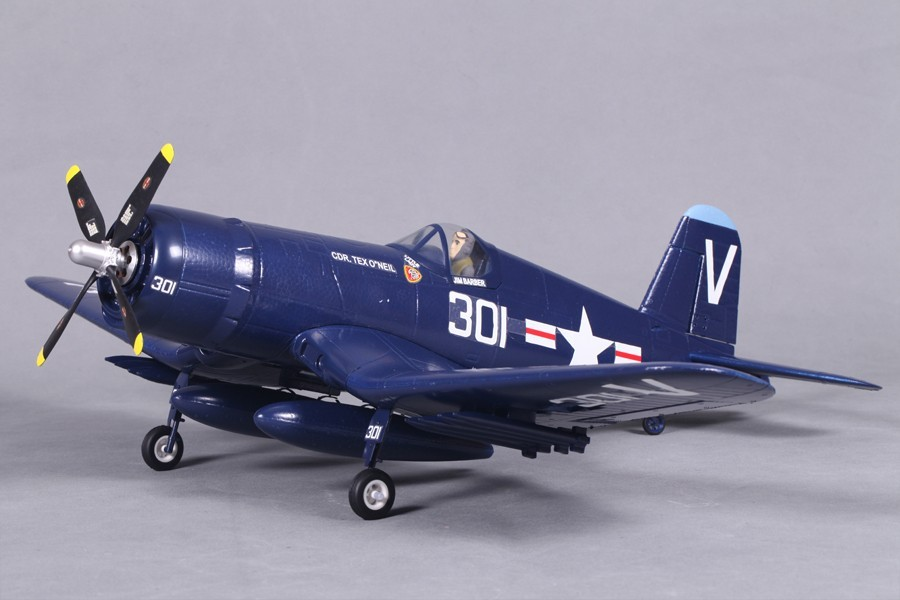 Airplanes, FMS 800mm F4U (V2) Blue PNP