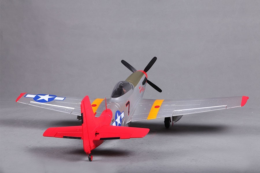 Airplanes, FMS 800mm P51(V2) Red Tail PNP