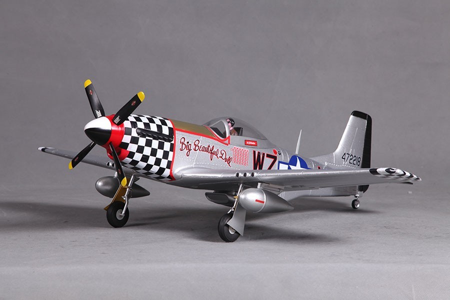 Airplanes, FMS 800mm P51 (V2) Big Beautiful Doll PNP