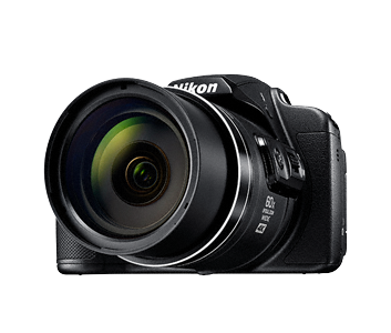 Nikon COOLPIX B-700, 20.3 MP, 60X, 4K, WiFi + Bag+16 GB Memory Card, Black