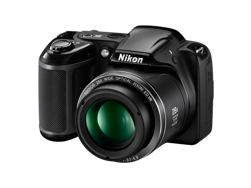 Nikon COOLPIX L340, 20MP Camera (VNA780MA) + MEMORY CARD