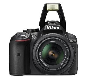 Nikon D5300 Body + AF 18-200 mm lens VC Tamron Lens + Bag + Memory Card
