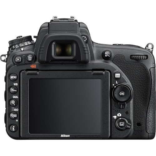 Nikon D750 DSLR body only (VBA420AM) + Nikon Vest + 16 Memory Card, Black