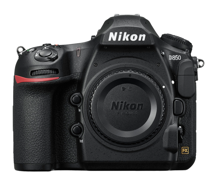 Nikon D850 Body Only, Full Frame DSLR, 45.7 MP, 16 Memory Card + Nikon Photo Vest,Black