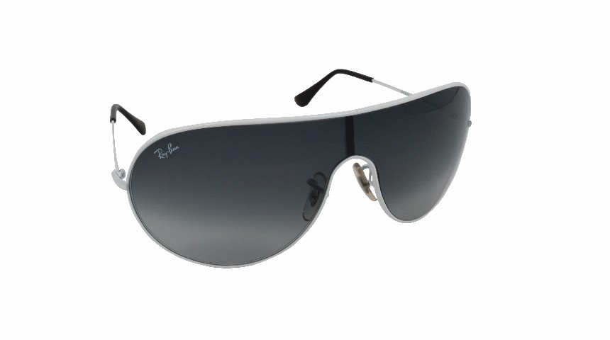 Ray Ban  White Sunglass For Unisex (SG1733)