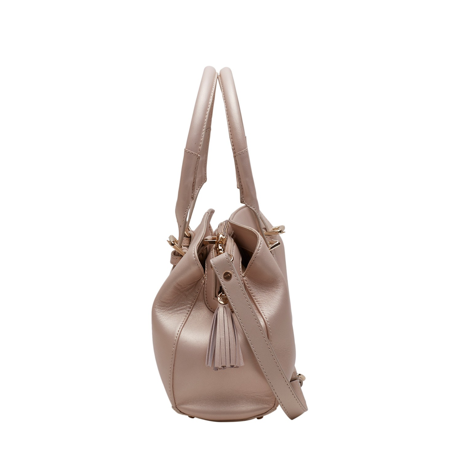 ACUIR Handbag for Women, Baguette,Champagne Pearl