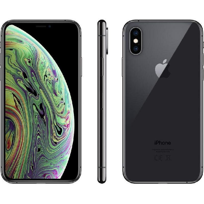 Apple iPhone Xs, 64 GB, Space Grey, 4G LTE